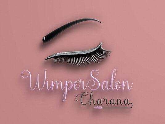 Logo logo laten maken Logo laten maken Logo Wimpersalon Charana 535x400