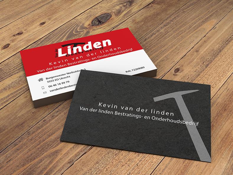 Visitekaartje van der linden bestrating  Van der linden bestrating visitekaartje Van der linden bestrating 1