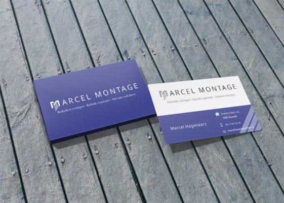 Marcel Montage Visitekaartje