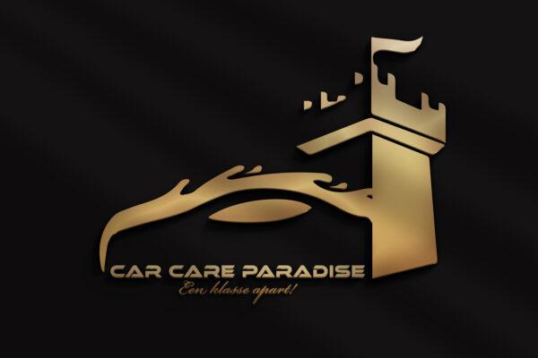 Car Care Paradise logo  Car care Paradise Car Care Paradise logo concept compleet 600x400