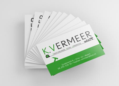 kaylian vermeer visitekaartje